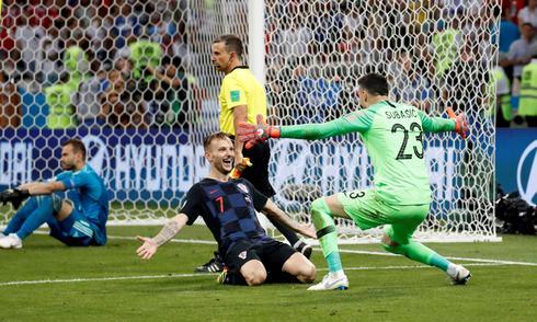 Croatia 2 (4) - Russia 2 (3)
