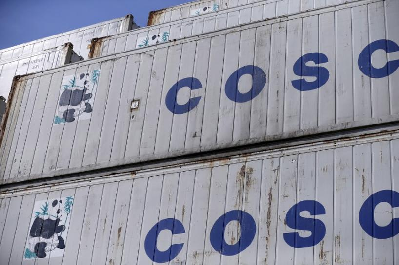 China's COSCO Shipping wins U S  security clearance for OOIL deal
