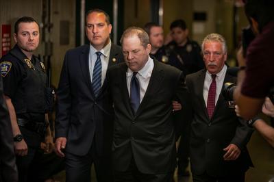 Harvey Weinstein charged