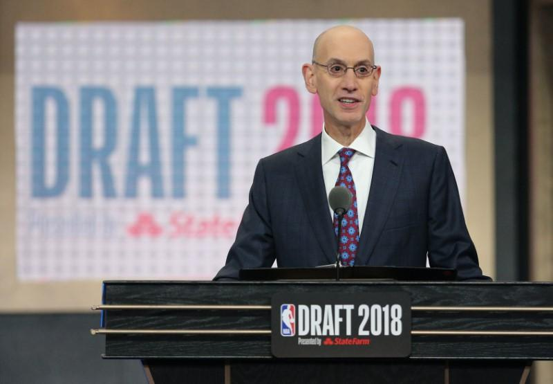 NBA's Silver sees win-win in bidding war for Fox