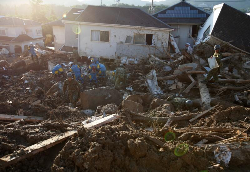 Japan faces 'frequent' disasters as flood toll reaches 200