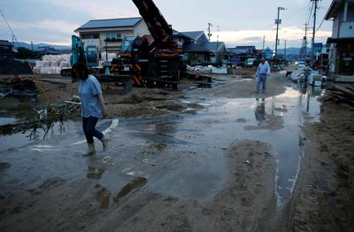 Deadly floods in Japan