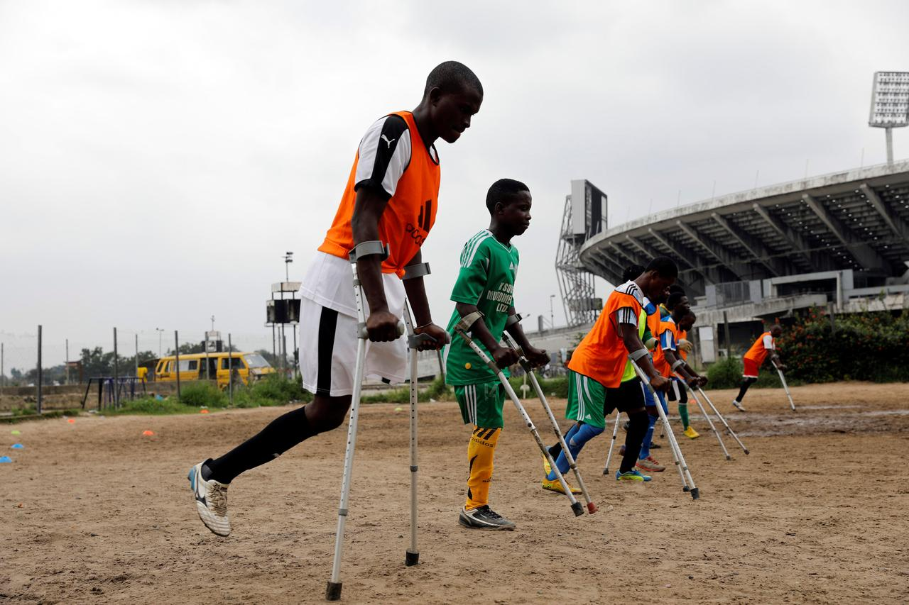 Soccer Nigeria S Amputee Football Team Prepares For World Cup Debut Reuters