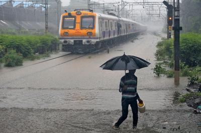 Waterlogged: rain brings chaos to Mumbai