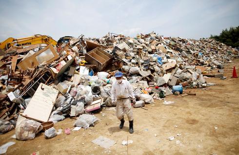 Japan flood aftermath