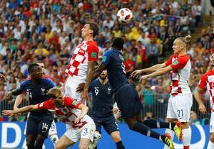 France vs. Croatia in World Cup final