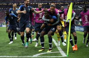 France beats Croatia 4-2 to win World Cup