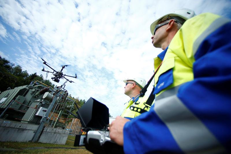 Power to the drones: utilities place bets on robots - Reuters