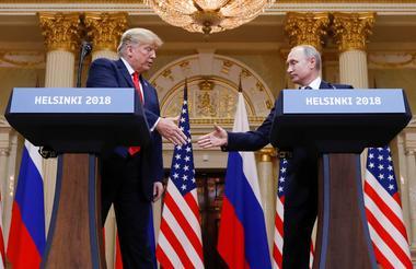 米大統領選介入信じる理由ない、プーチン氏が「強く」否定=トランプ氏
