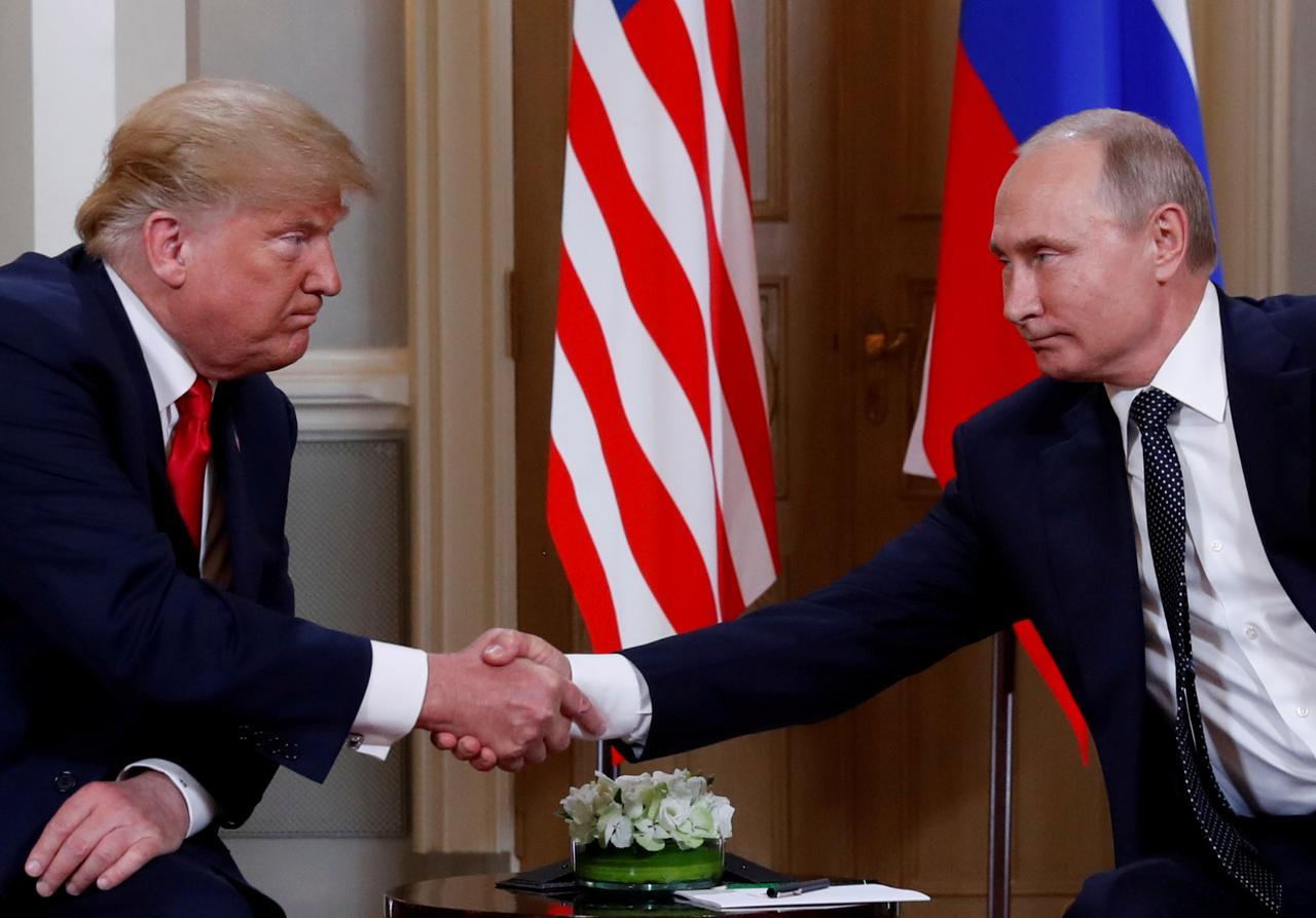 焦点:美俄峰会特朗普力挺普京称俄罗斯未干预美国大选- Reuters