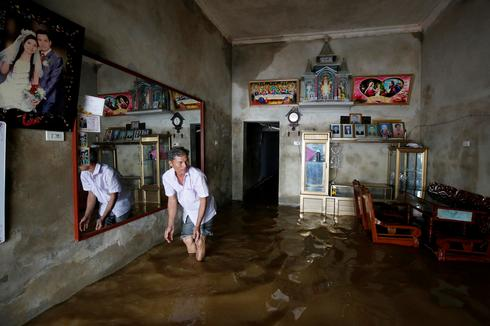 Tropical storm lashes Vietnam