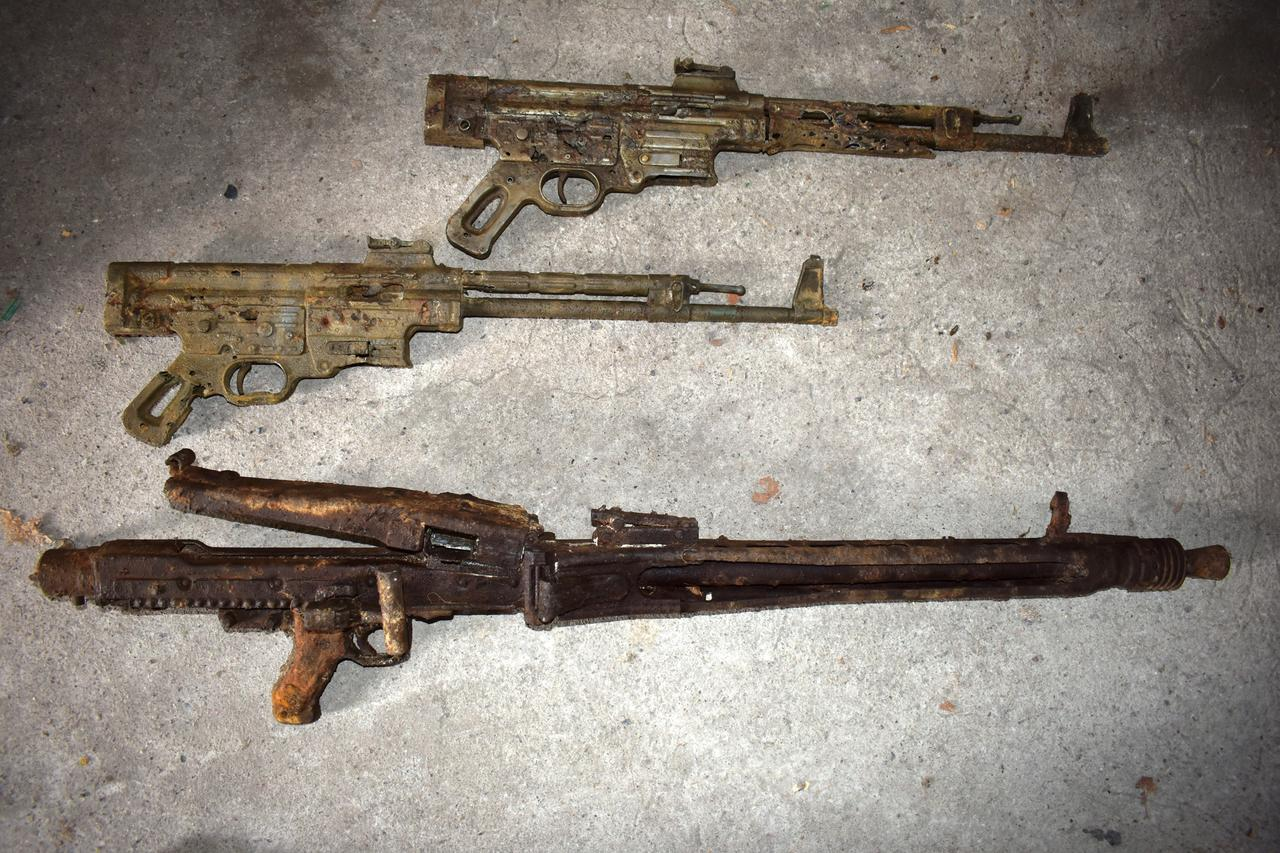 German police seize Nazi-era weapons man said to have found with