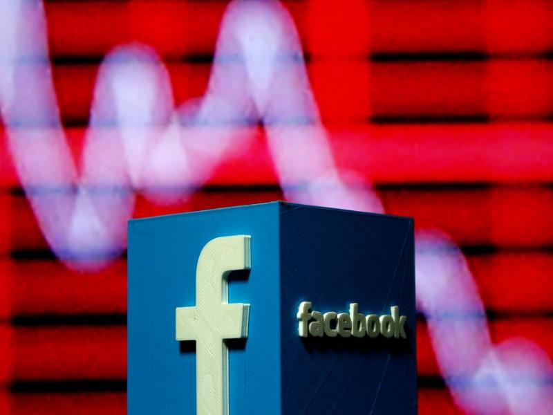 Facebook Sends Nasdaq Tumbling But Trade Optimism Boosts Dow Reuters