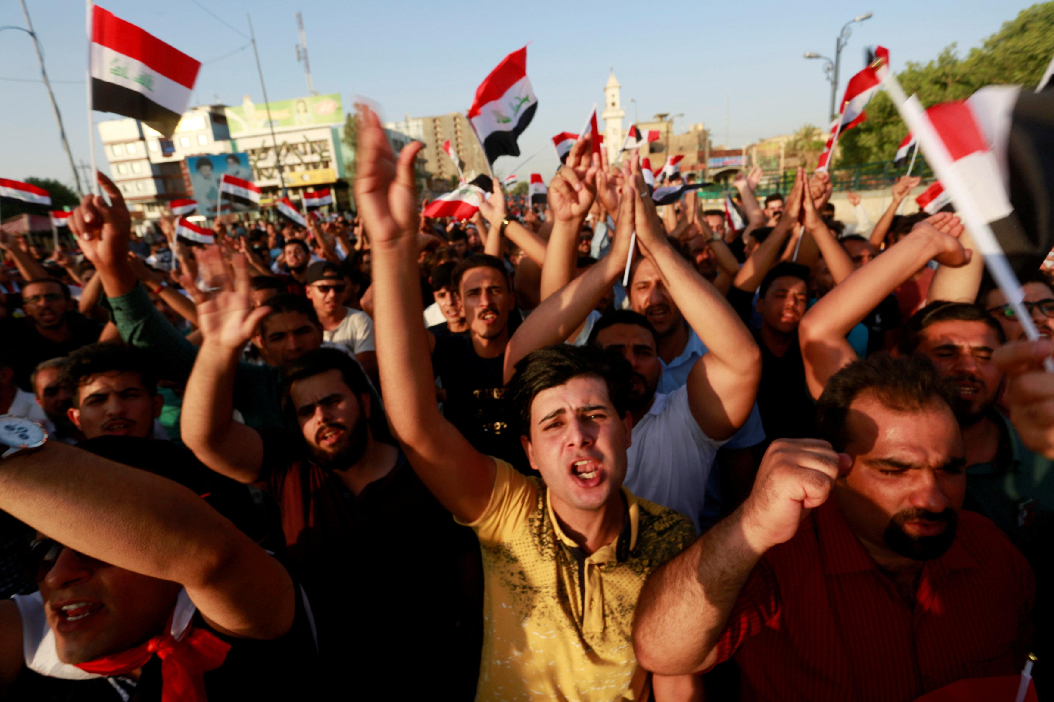 Iraqi PM suspends electricity minister amid unrest over poor services
