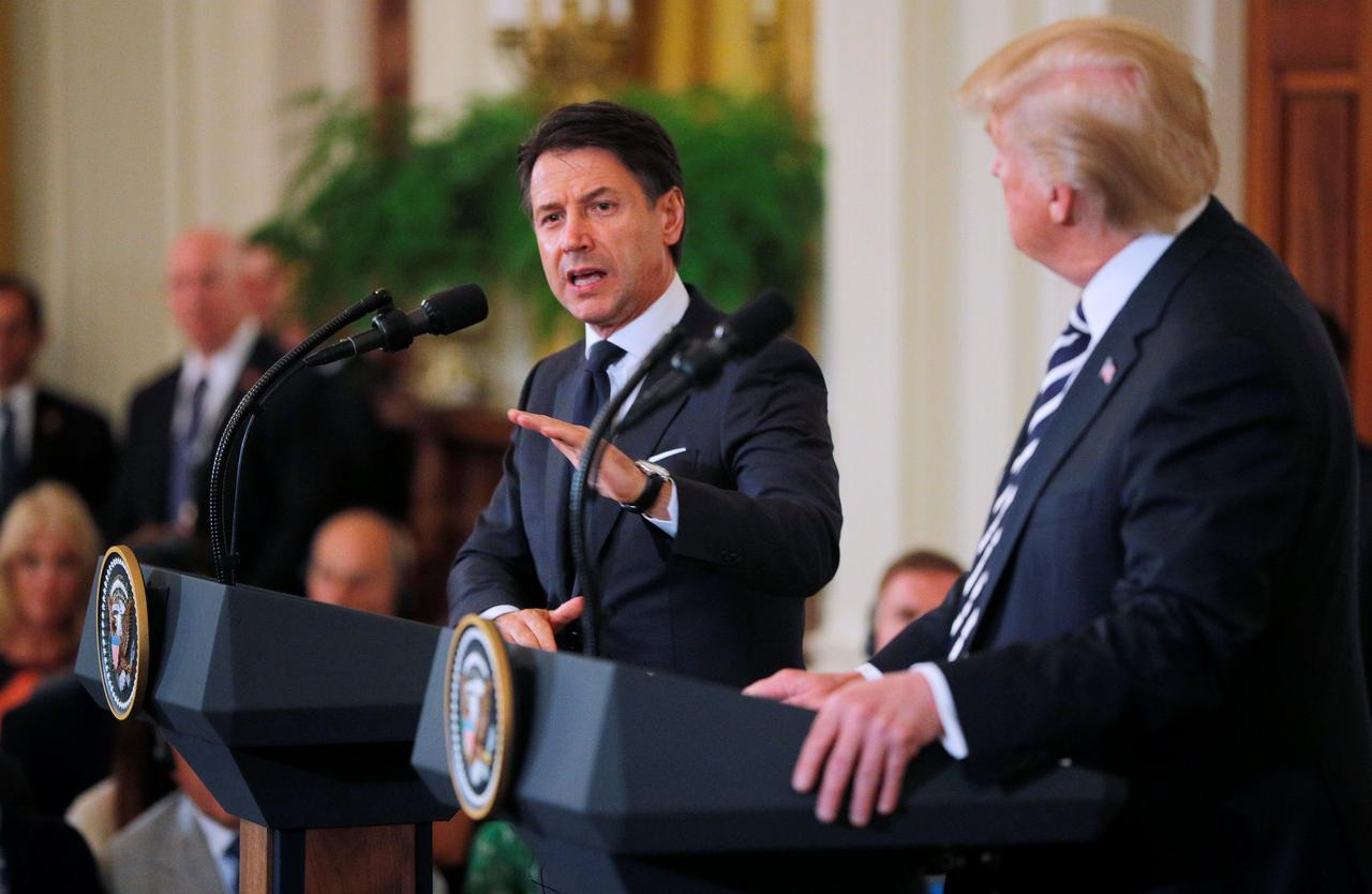 Italy's Conte says he is organizing a conference on