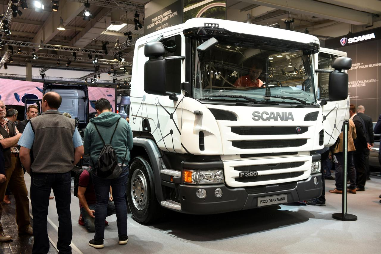Scania says U S  sanctions put entire Iran truck sales in