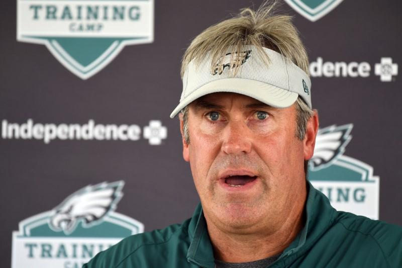 NFL notebook: Eagles hand extensions to Pederson, Roseman   Reuters