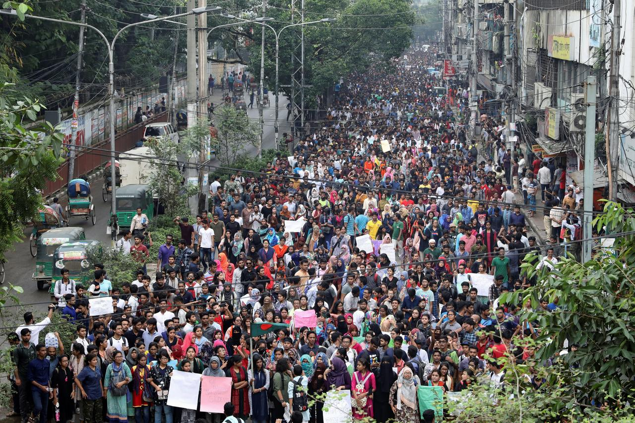 Bangladesh protests spur cabinet to toughen punishment for