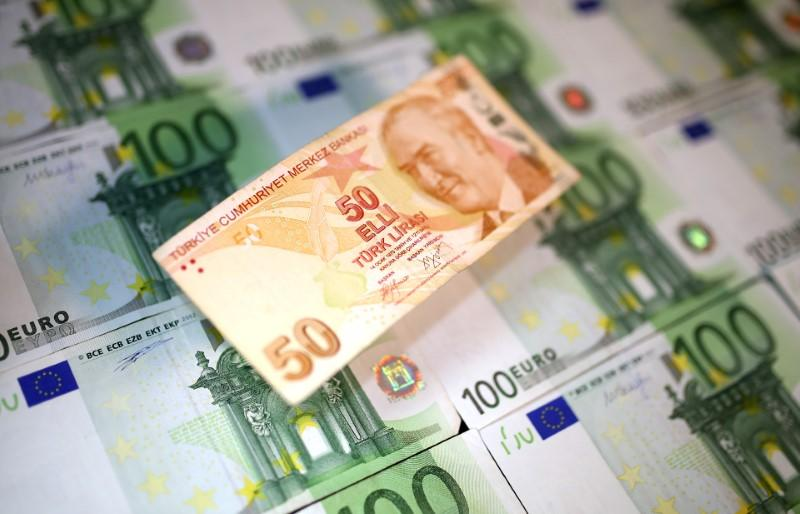 euro emerging market currencies fall on turkey s economic woes