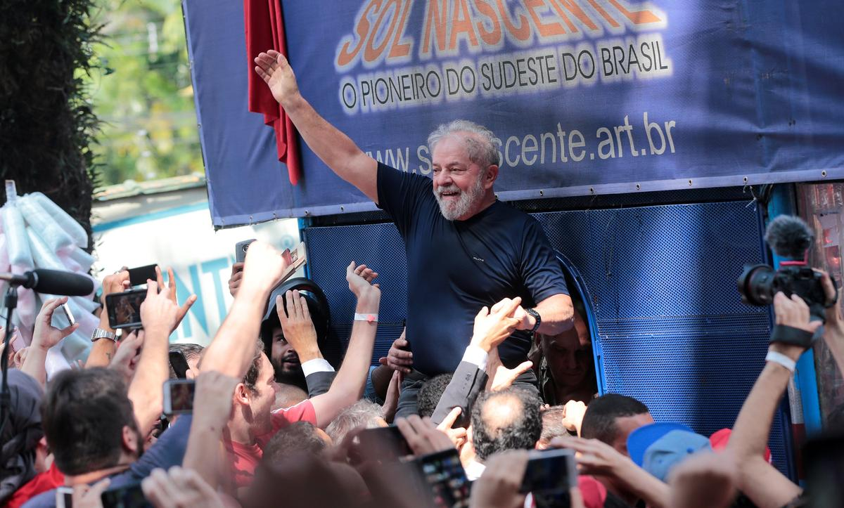 Brazil's Lula to register as presidential candidate from jail