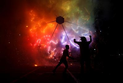 Fireworks over Malta