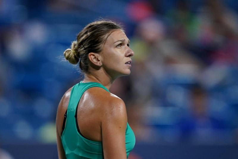 Halep withdraws from final U.S. Open tune-up with Achilles injury