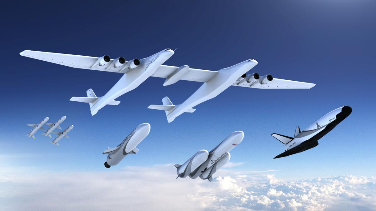 Paul Allen's space firm details plans for rockets, cargo vehicle
