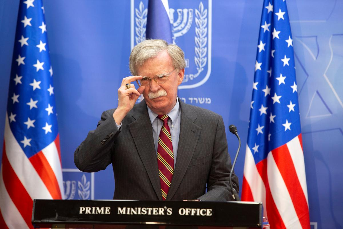 U.S. not discussing recognition of Israel's Golan hold: Bolton   Reuters
