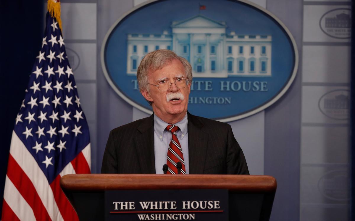 Trump adviser Bolton says Russia 'stuck' in Syria, Iran must leave   Reuters