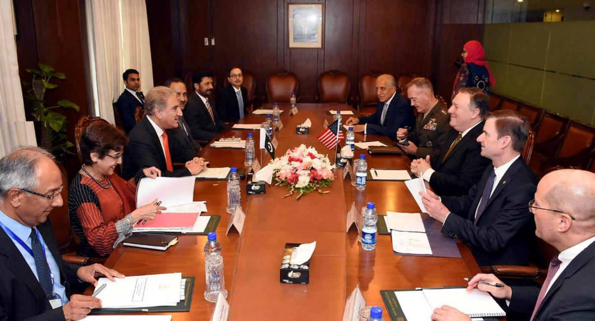 Pompeo upbeat on 'reset' with Pakistan after meeting new PM Khan