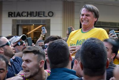 Brazilian presidential candidate stabbed
