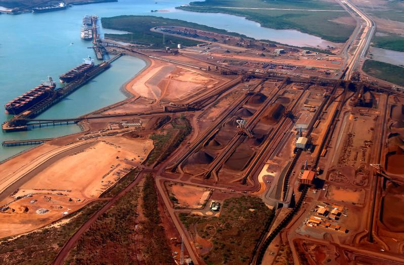 Australia's Port Hedland iron ore shipments to China rise nearly 10 percent in August