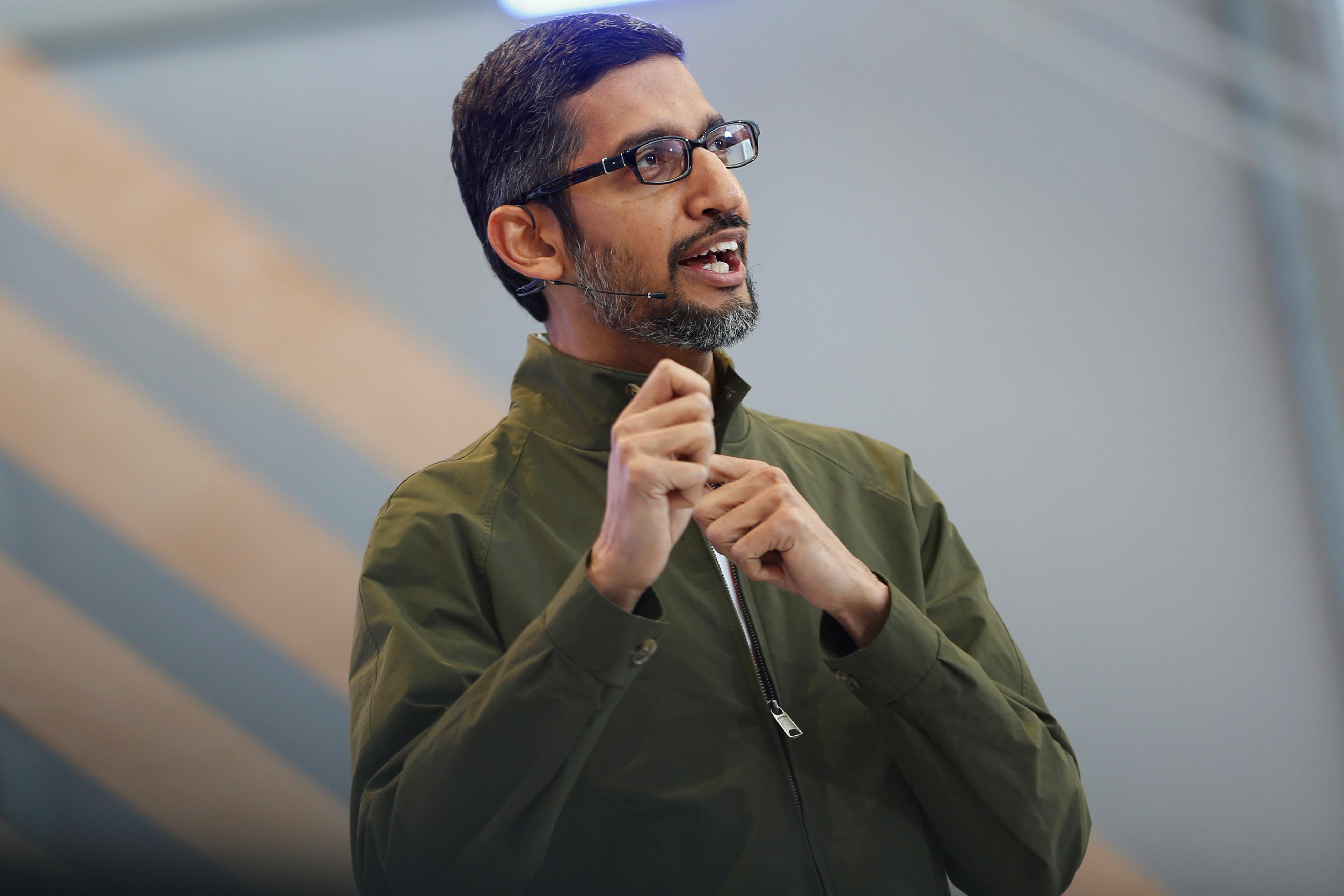 Google CEO will testify before U.S. House on bias accusations