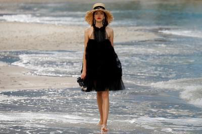 Chanel by the ocean
