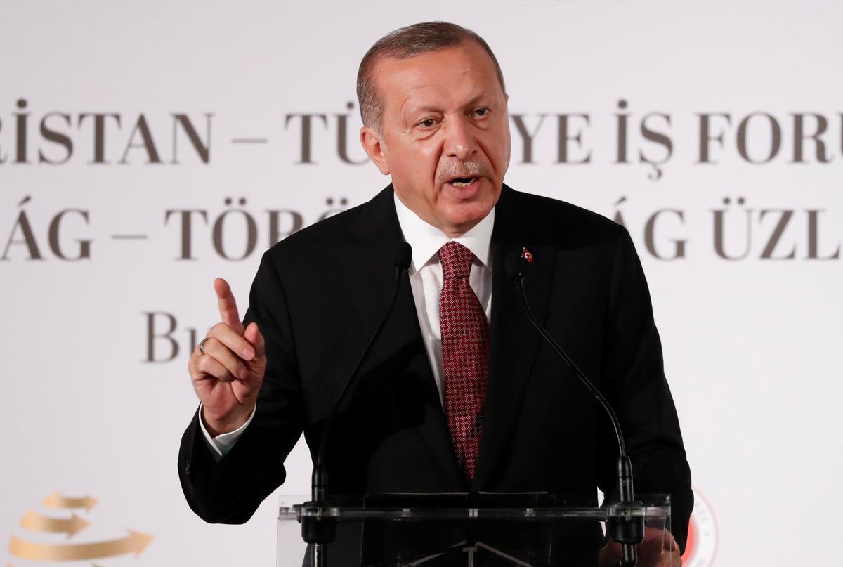Erdogan says Turkey-U.S. deal on Syria's Manbij 'not dead': Hurriyet