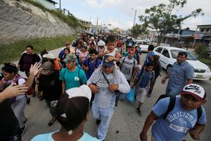 �March of the Migrant� heads north