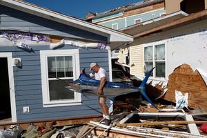 One week after Hurricane Michael