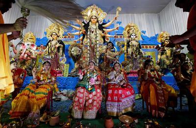 The Navratri festival in India