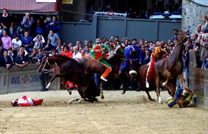 Running the Palio di Siena