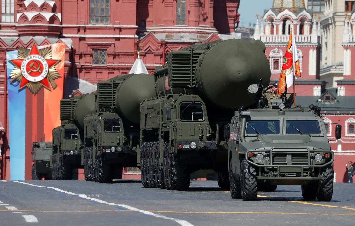 Russia pledges 'balance' if U.S. quits nuclear pact; Trump eyes…