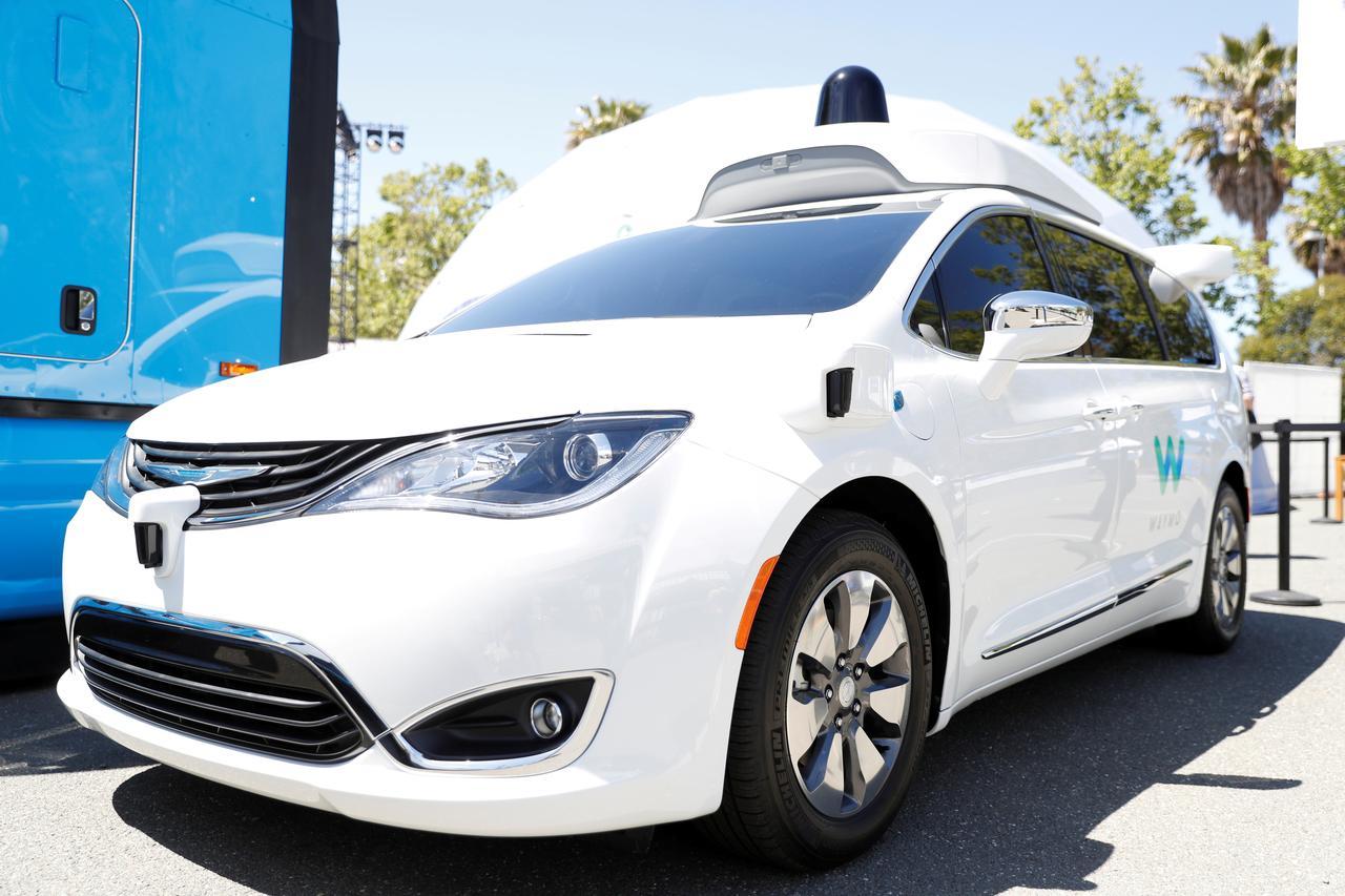 Waymo gets first California OK for driverless testing