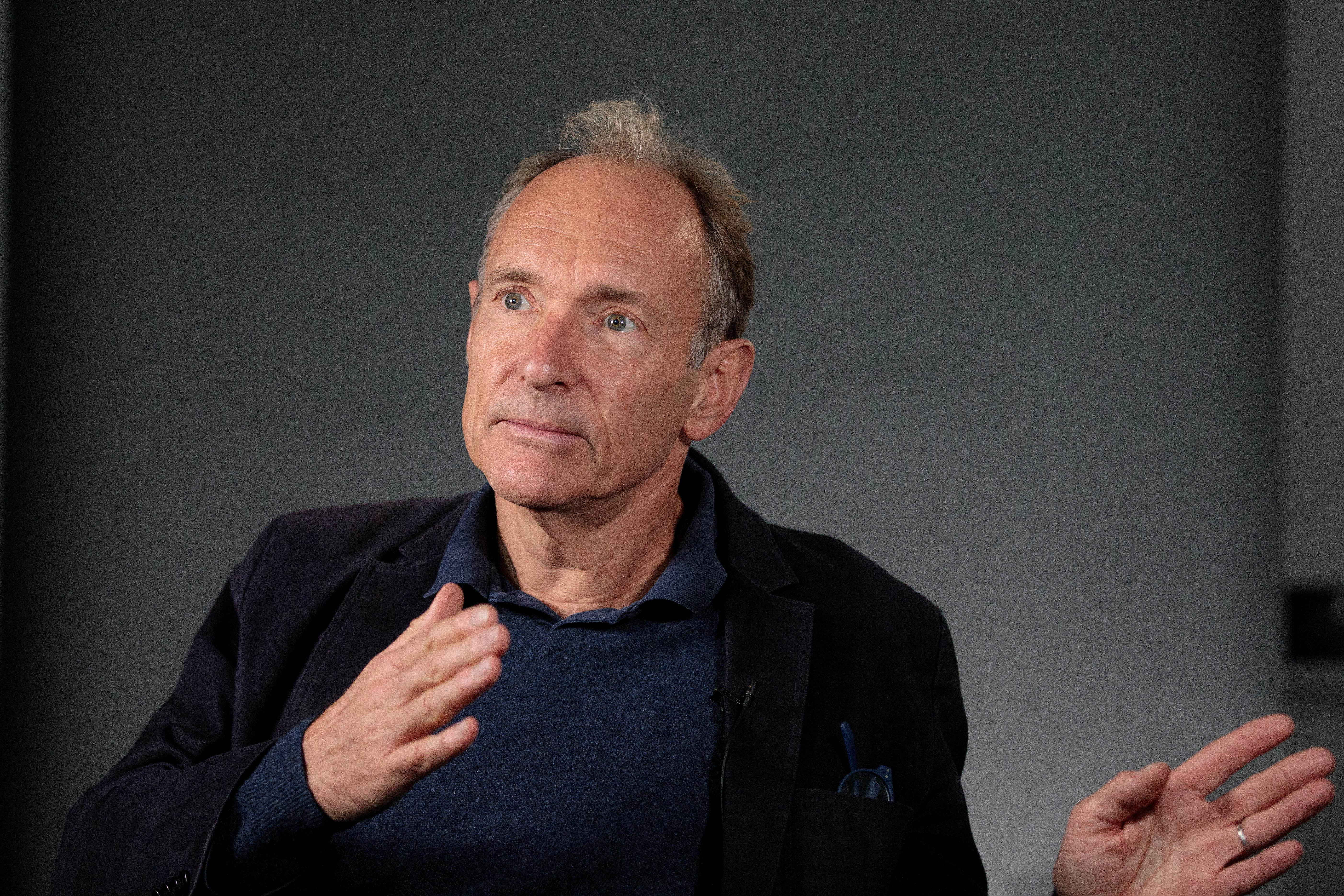 Father of Web says tech giants may have to be split up