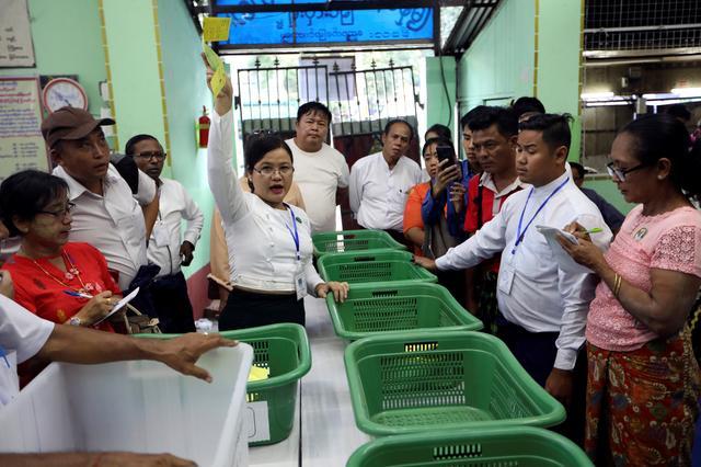 Image result for 2020 myanmar election