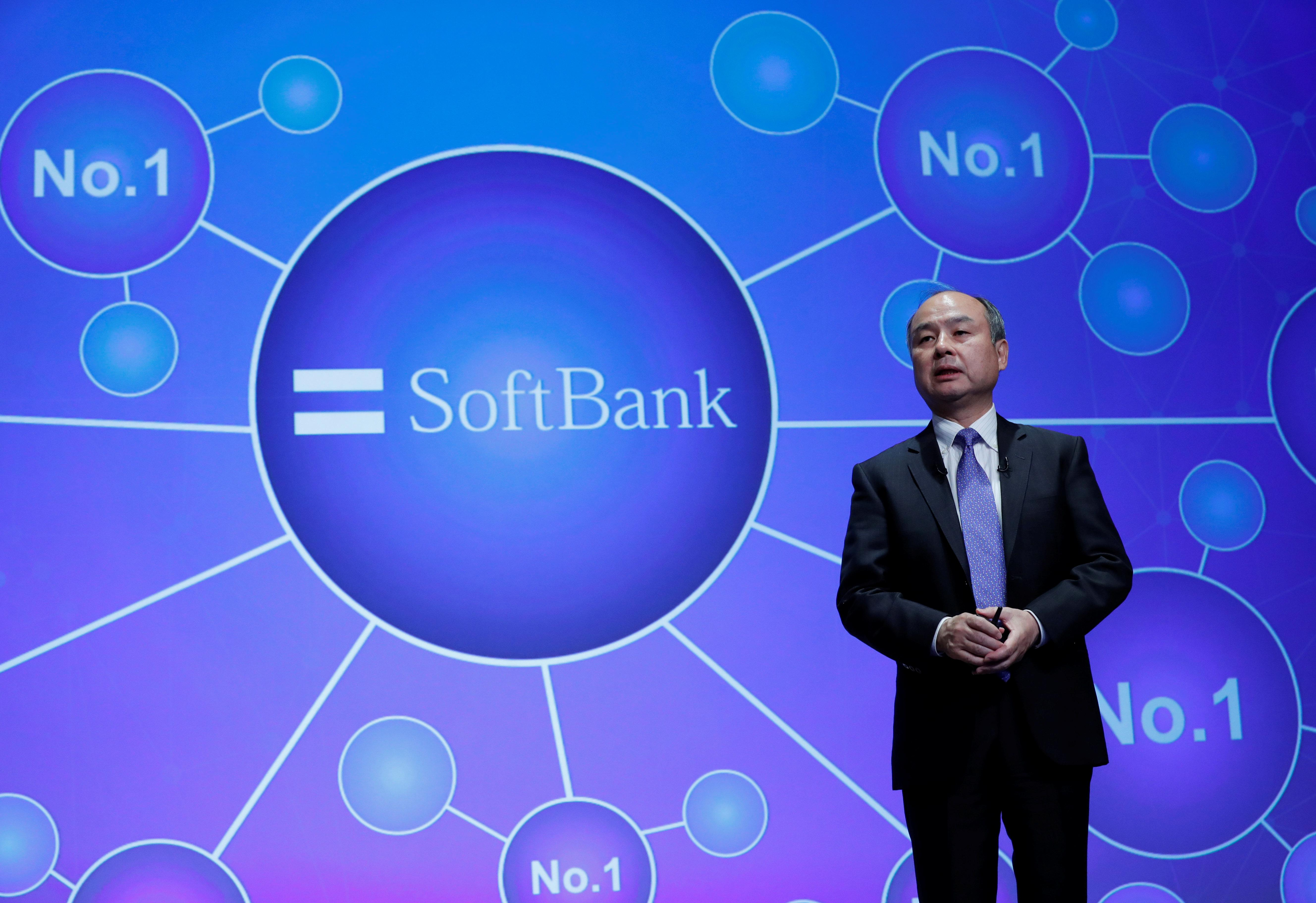 Softbank's Son says to carry out responsibility to Saudi people