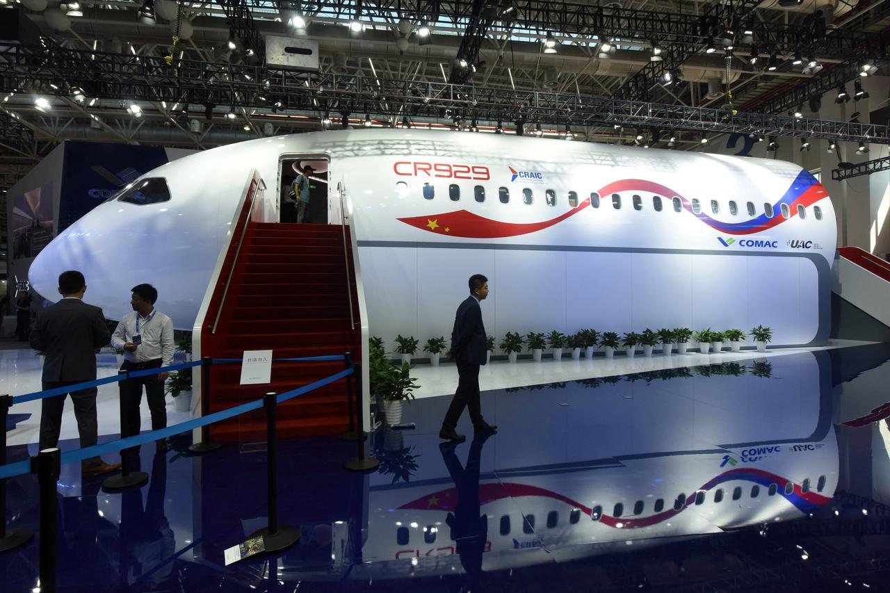 Resultado de imagen para CR929 airshow china