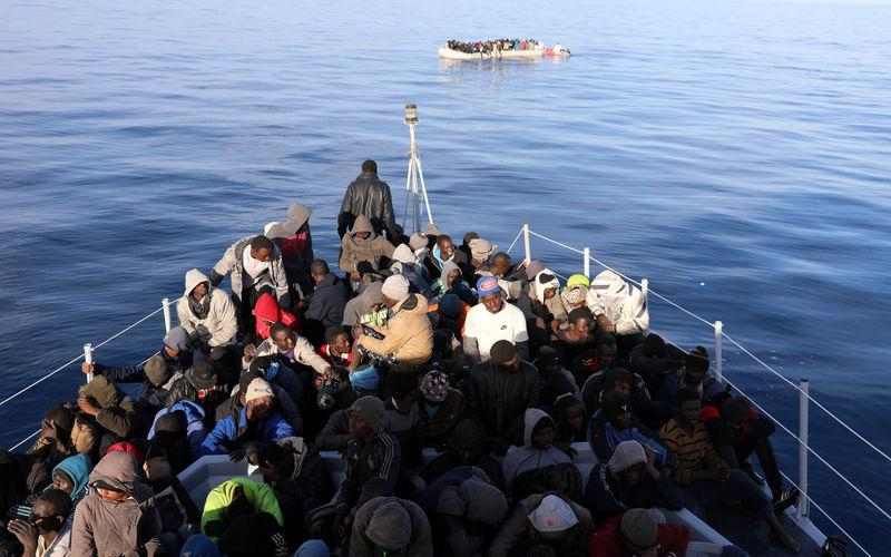 Libyan Coast Guard picks up 315 migrants attempting sea crossing - Reuters