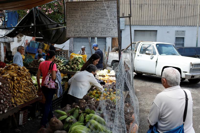 reuters.com - Reuters Editorial - Venezuela's annual inflation hit 833,997 percent in October: Congress