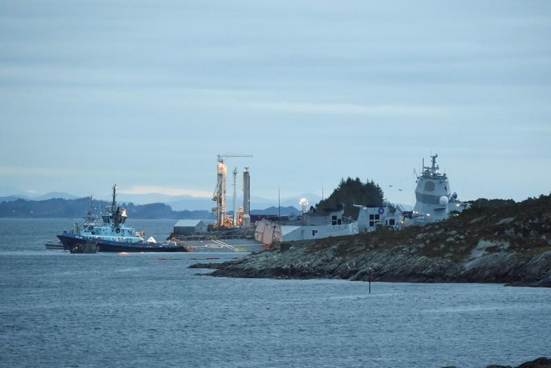 Norwegian oil, gas plants restart after tanker and frigate