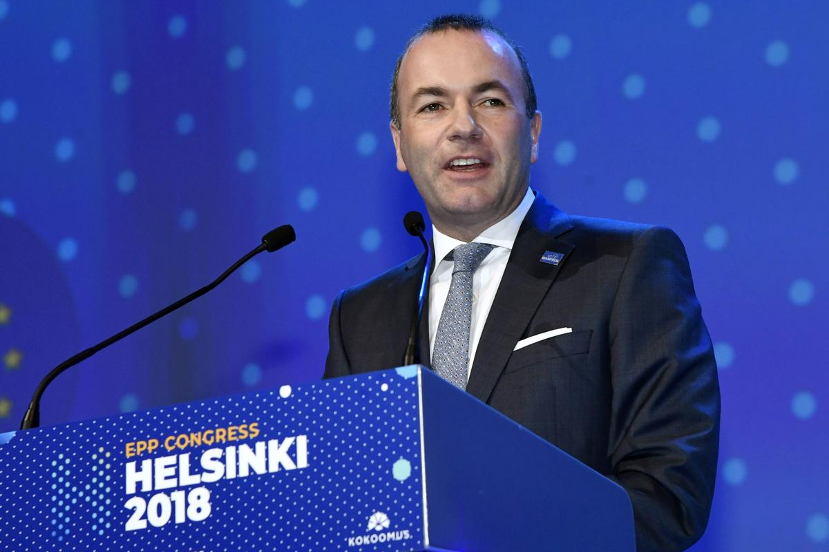 German Weber wins EPP backing for EU's top job