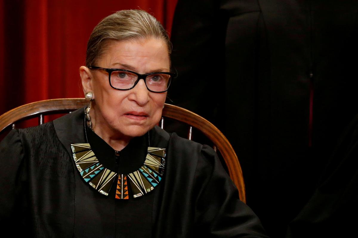 Ruth Bader Ginsburg Hospitalized for Possible Infection After Experiencing Fever and Chills